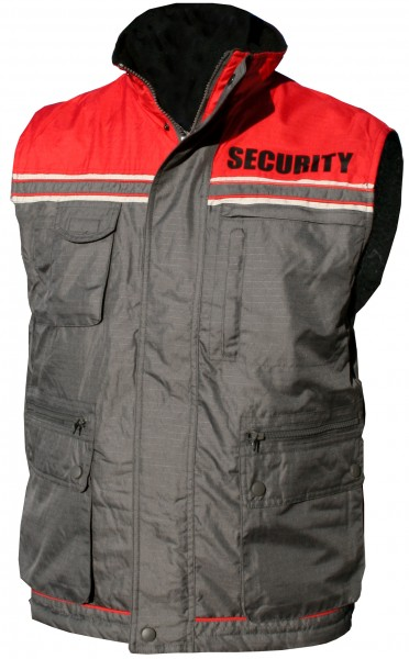 "Security-waistcoat with ""SECURITY"" - imprint"