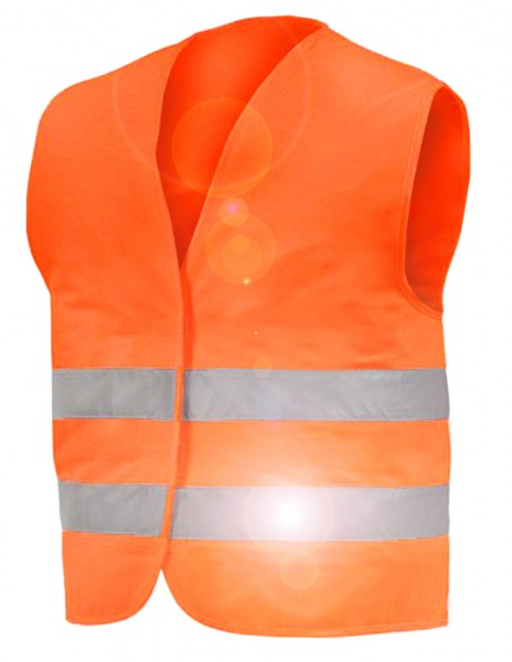 "Safety vest - ""VisibleT"", with reflector stripes"