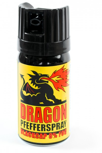"Spray au poivre Dragon ""BlackCap"" - 40 ml"