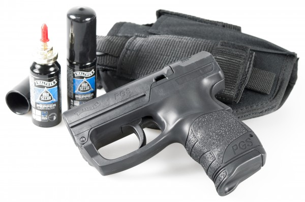 "Home Defense Kit ""WALTHER PGS"" incl. OC cartridge & beltholster"