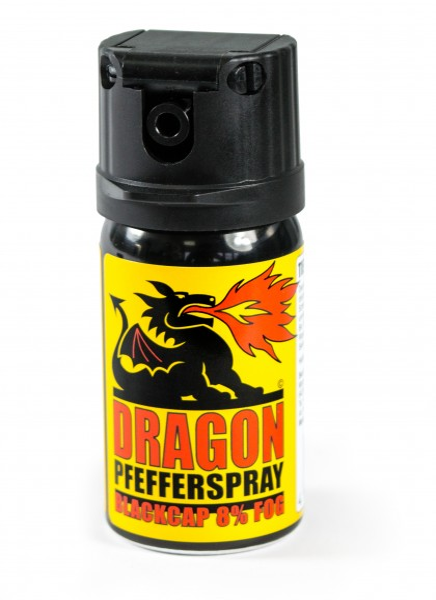 "Spray au poivre Dragon ""BlackCap"" - 40 ml"