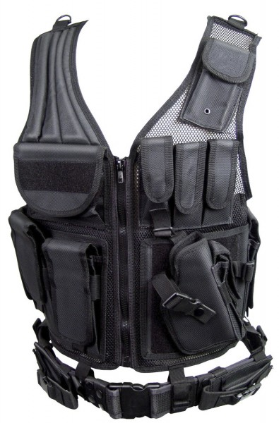 Tactical multifunction vest