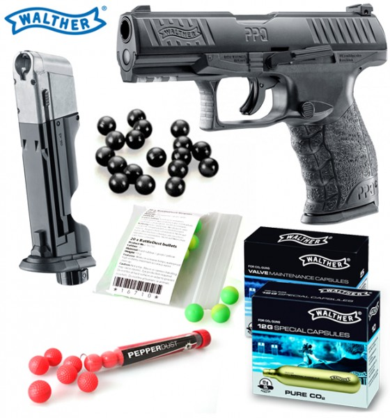 """Home Defense Set """"Personal PPQ"""" - cal .43 Walther PPQ inkl. Emergency Magazin"""