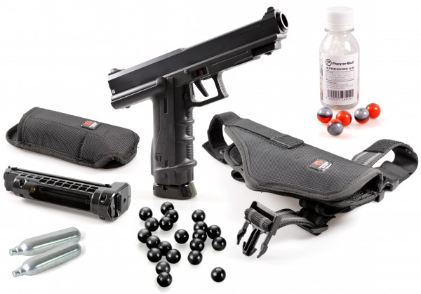 "Home Defense Set ""Police"" - cal .68 mit PepperBalls LIVE-X"