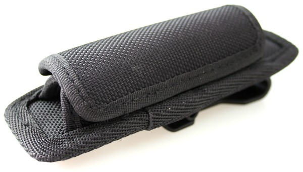 Stretch-holster for batons, torches and stun guns in baton form