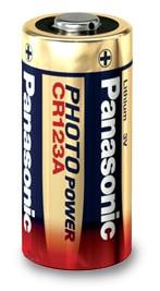 3,0 Volt Lithium-Batterie (CR123) - Panasonic