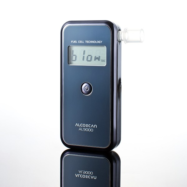 Digitaler Atem-Alkoholtester AL9000 mit Aufbewahrungskoffer