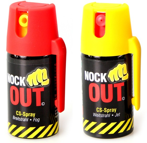 "CS gas spray ""Nock Out"" - 40 ml"