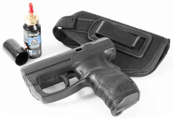 "Home Defense Kit ""WALTHER PGS"" incl. OC cartridge & IWB (inside waistband) holder"