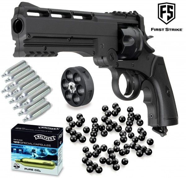 """Home Defense Set """"First Strike Roscoe"""" Revolver - cal. 50"""