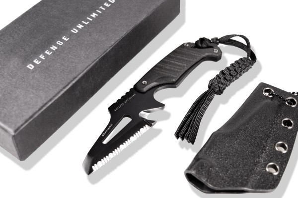 """Rettungsmesser """"Seahawk"""", Neck Knife inkl. Holster"""