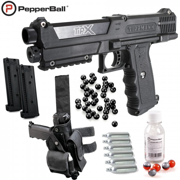 "Home Defense ""Set Police Heavy"" - cal .68 avec PepperBall® LIVE-X"