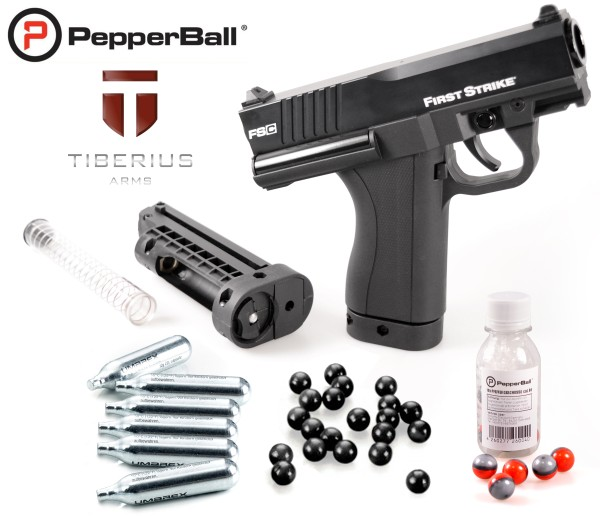 "Home Defense Set ""Police FSC"" - cal .68 avec PepperBall® LIVE-X"