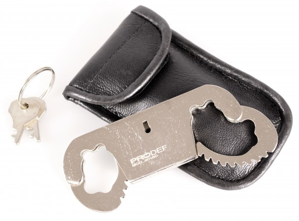Poignets de pouce PRODEF®, acier nickelé, y compris étui à ceinture