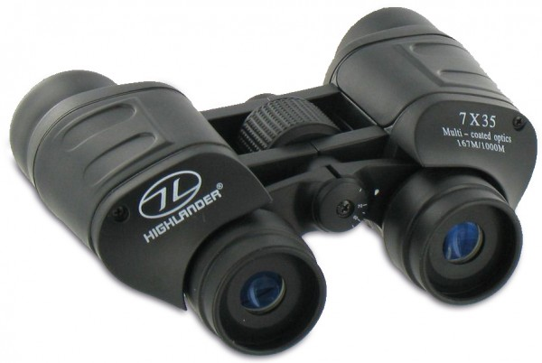 "High class binocular "" 7 x 35"" for security services"