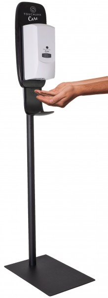 "Desinfektionsmittelspender ""Touchless Care 2in1"" mit Sensor inkl. Ständer"