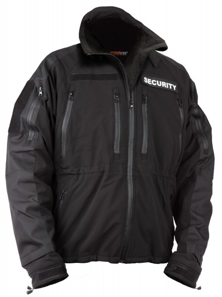 Professional jacket for security services with level-5 protection