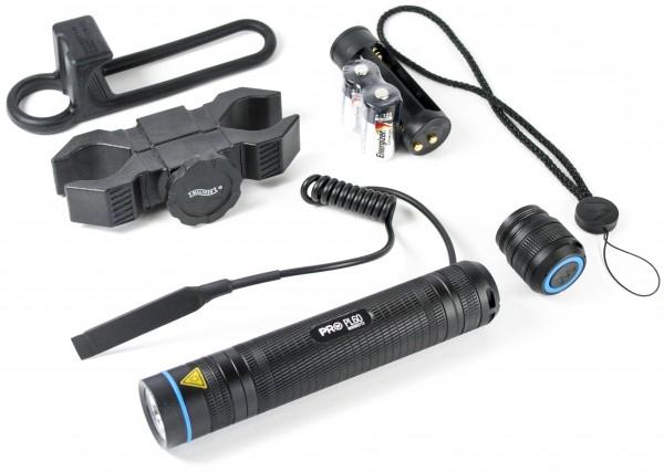 """Lampen-Set """"Walther® PL60RS"""", 500lm inkl. Kabelschalter & Halter"""