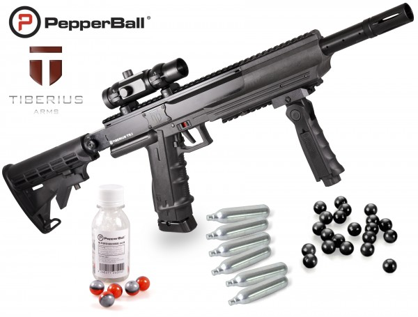 "Home Defense Set ""Police Advanced"" - cal .68 mit PepperBalls LIVE-X"