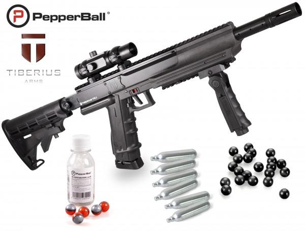 "Home Defense Set ""Police Advanced"" - cal .68 avec PepperBalls LIVE-X"