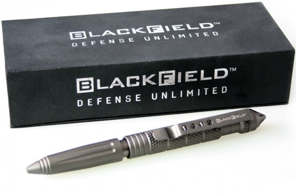 "Kubotan - ballpoint pen 2 in 1 ""Blackfield"""
