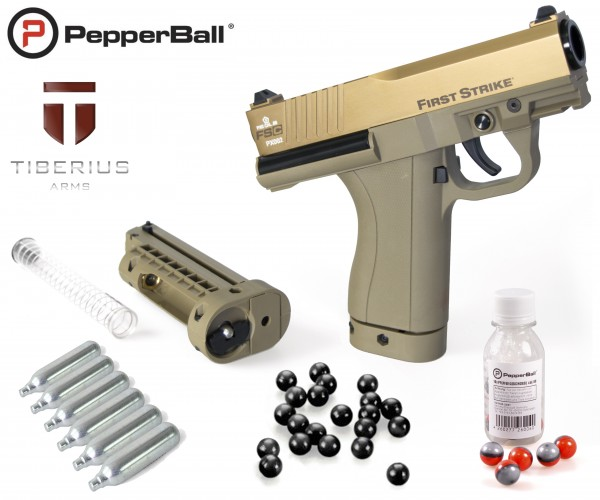 "Home Defense Set ""Police FSC Limited Edition"" - cal .68 mit PepperBall® LIVE-X"