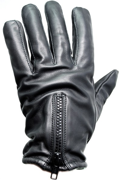 PRODEF® Security gloves, Level-5 cut-protection leather, with zipper