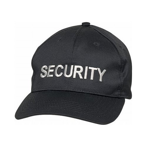 Security Cap - peaked cap