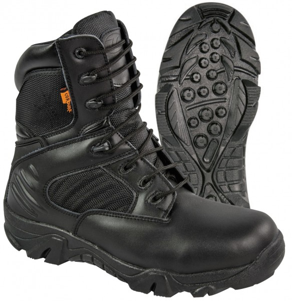 Reinforced boots for safety personnel