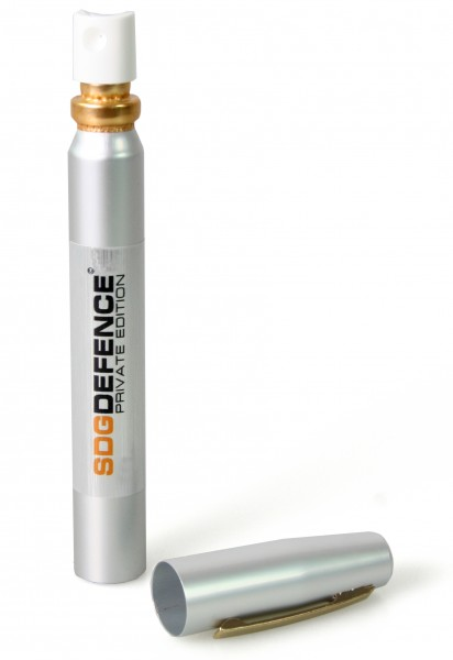 "Spray au poivre ""SDG-DEFENCE"" en forme d'un stylo - 12 ml"