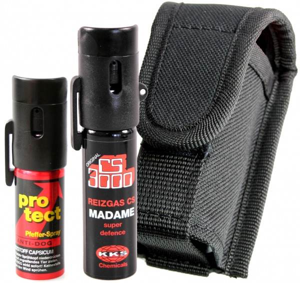 "Kit double ""Lady"" avec holster"