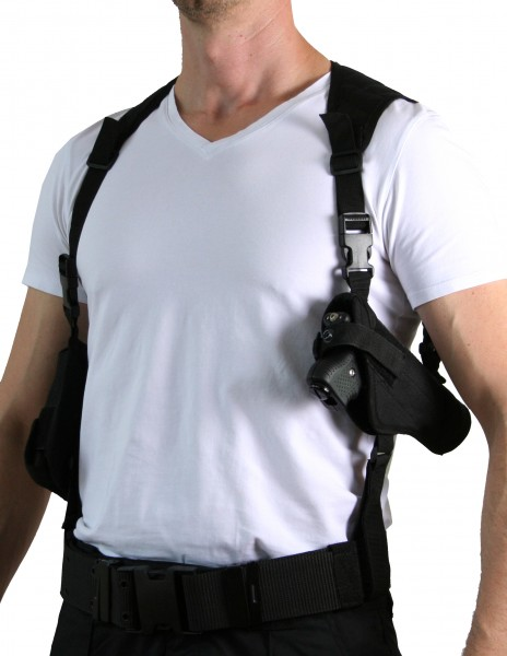 PRODEF® shoulder holster with cartridge-holster for Piexon Jet Protector JPX