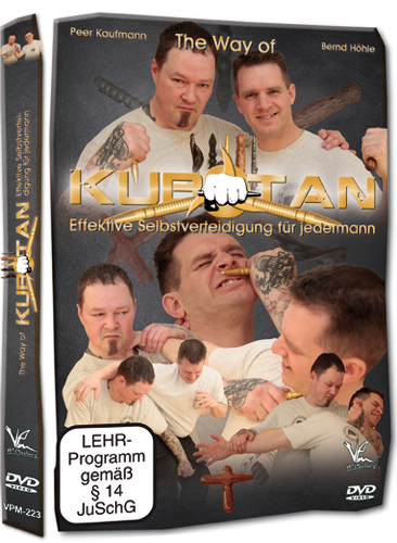 "DVD - Effektive Selbstverteidigung für jedermann ""The Way of Kubotan"""